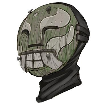 Máscara troll para Hellboy 2: The Golden Army (2)